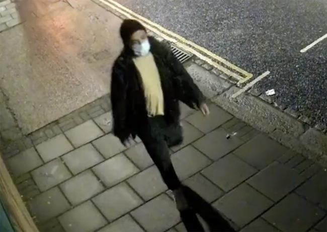 Police would like to identify this man. Credit: Met Police