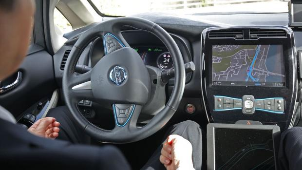 Tottenham Independent: Self-driving cars enabling drivers to take their eyes off the road and their hands off the wheel could be permitted on UK motorways later this year (Philip Toscano/PA)