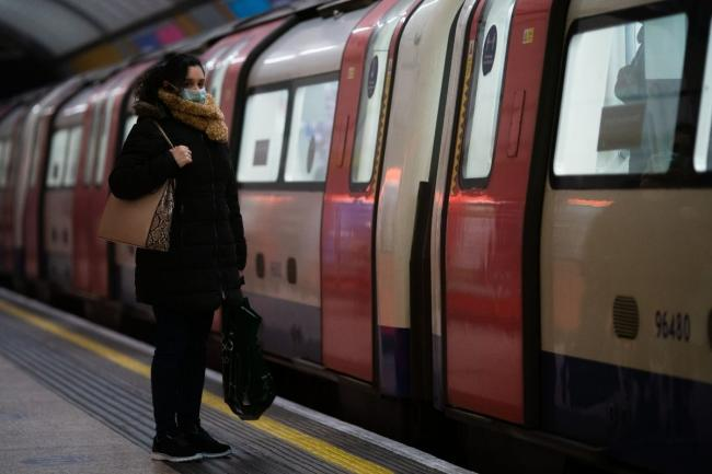 A planned strike on the Central Line may affect service on May 6. Credit: PA