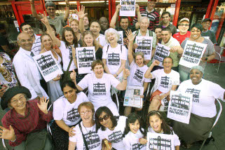 Tug-of-wards: campaigner's celebrate a landmark victory in their fight to preserve the character and diversity of Seven Sisters