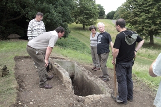 Archaeological dig begins into bomb shelters in Hendon park