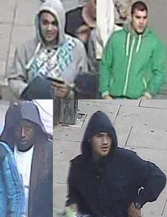 CCTV images of fresh Enfield riot suspects
