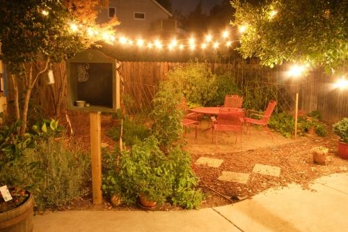 Tottenham Independent: Bright sparks: outdoor lighting can give your garden a new lease of life