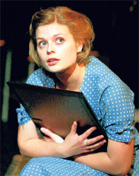 Insightful': Selina Chilton plays Charlotte Salomon in Lotte's Journey, at Hampstead's New End Theatre