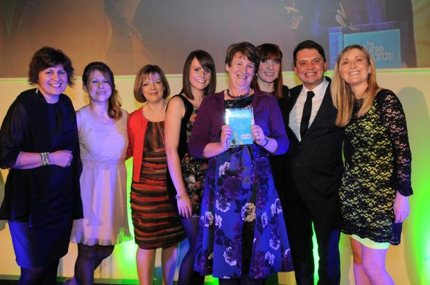 Nursing team gets prestigious award