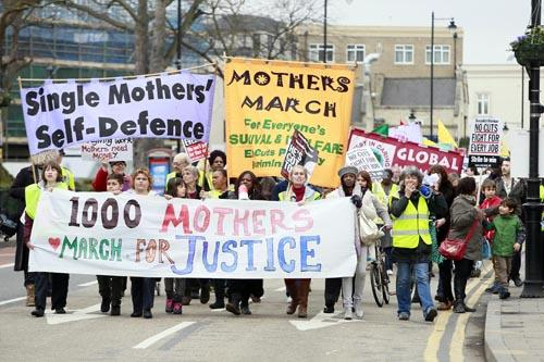 Last year more than 1,000 people attended the first Thousand Mothers March in Tottenham