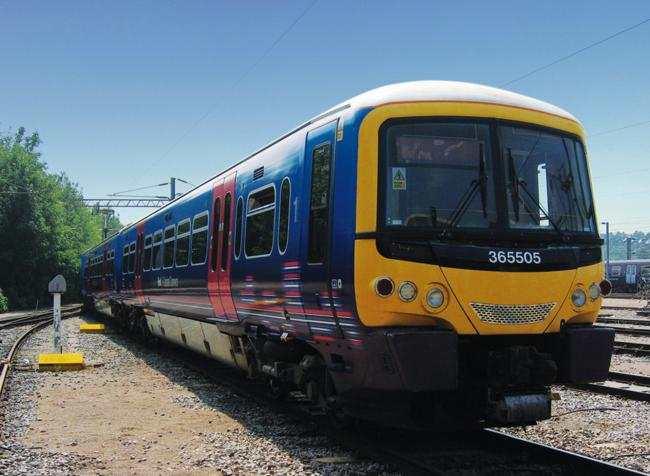 One of First Capital Connect's 365 trains which is due to be refurbished