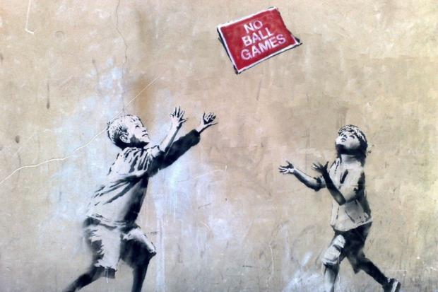Banksy's No Ball Games