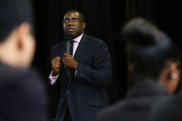 Tottenham MP David Lammy: