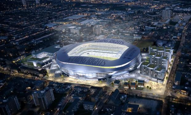 Tottenham Hotspur's 56,000-seater stadium would be completed by the summer of 2017