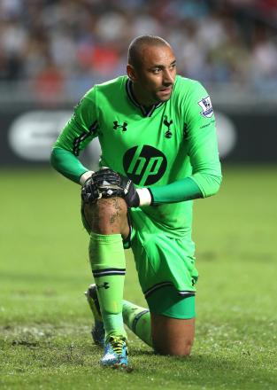 Heurelho Gomes has not played for Spurs for nearly three years. Picture: Action Images