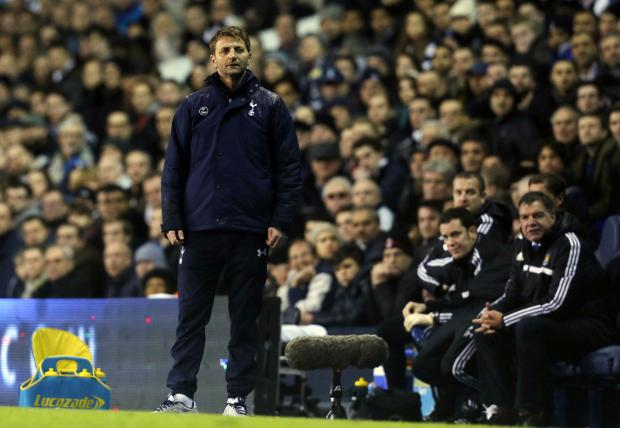 Tim Sherwood looks set to leave Spurs this summer. Picture: Action Images