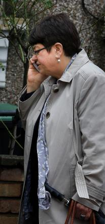 Nilgun Canver outside Wood Green Crown Court on Thursday