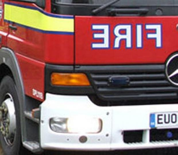 Firefighters tackle two fires in same street