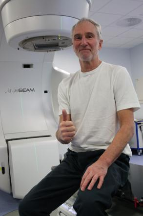 Cancer patient urges men to get 'checked out'