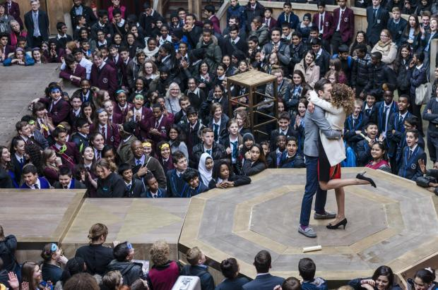 Five Haringey secondary schools won free tickets to see Shakespeare's The Merchant of Venice