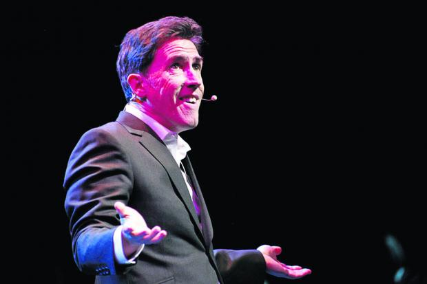 Actor and comedian Rob Brydon presented the company with their awa