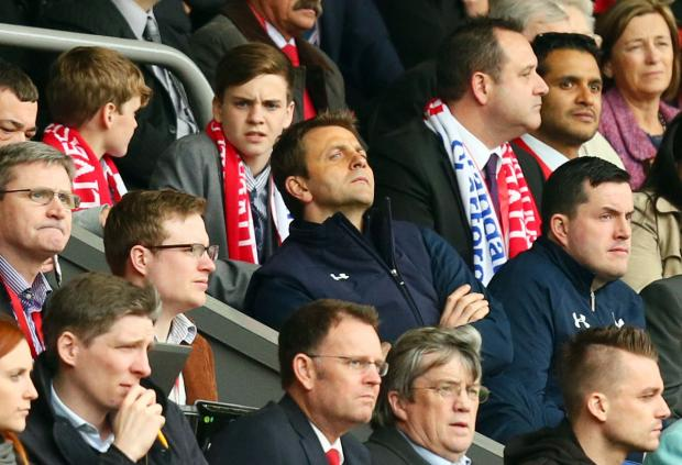 Spurs boss Tim Sherwood at Anfield. Picture: Action Images