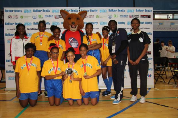 Haringey win the Schools Shield at the London Youth Games