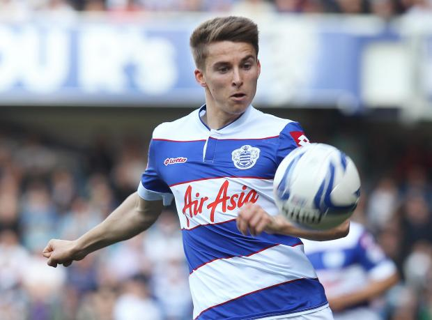 Tom Carroll in action for Queens Park Rangers this term. Picture: Action Images
