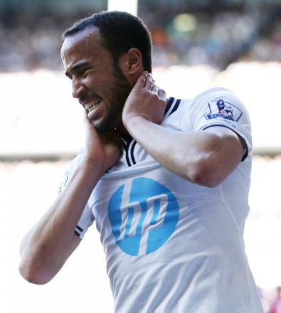 Andros Townsend is interesting Everton and Newcastle. Picture: Action Images