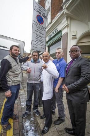 Members of the Tottenham Traders' Partnership say they restrictions are killing their businesses