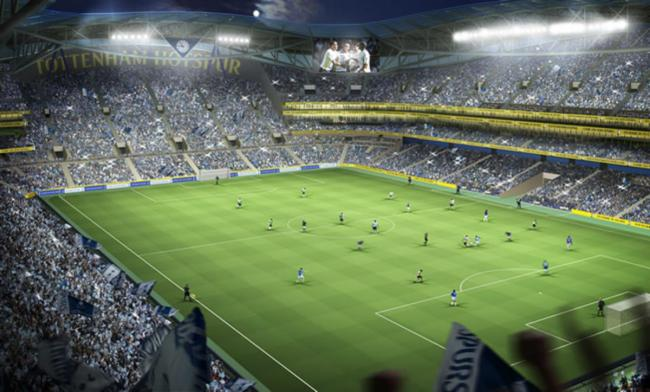 Tottenham Hotspur Football Club agree contract deal for stadium build