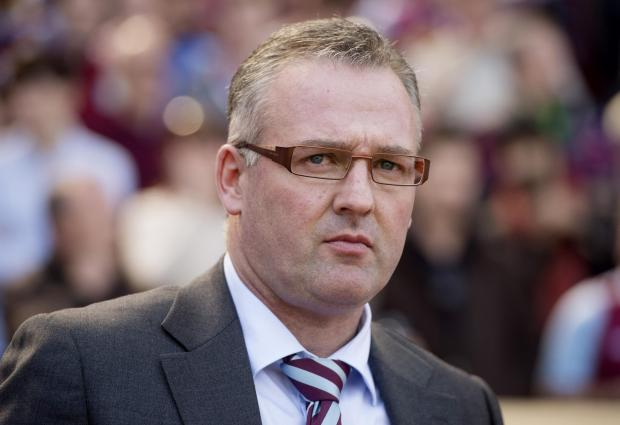 Under-fire Villa boss Paul Lambert. Picture: Action Images