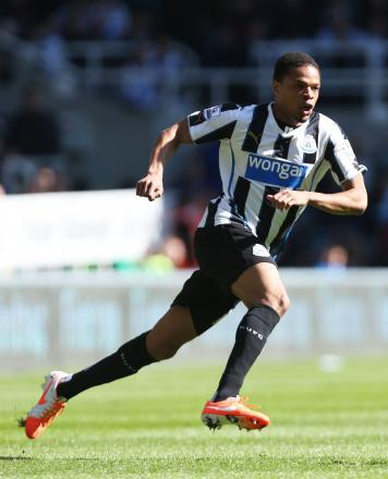 Loic Remy's loan deal at Newcastle finishes at the end of the season. Picture: Action Images