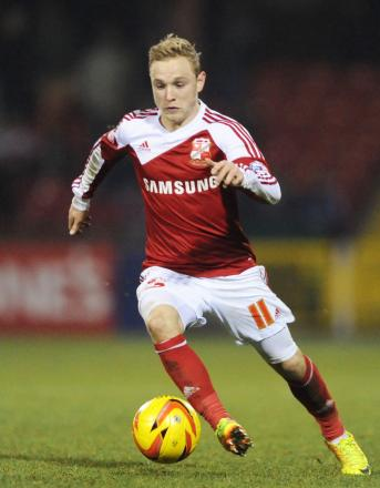 Alex Pritchard in action for Swindon Town. Picture: Action Images