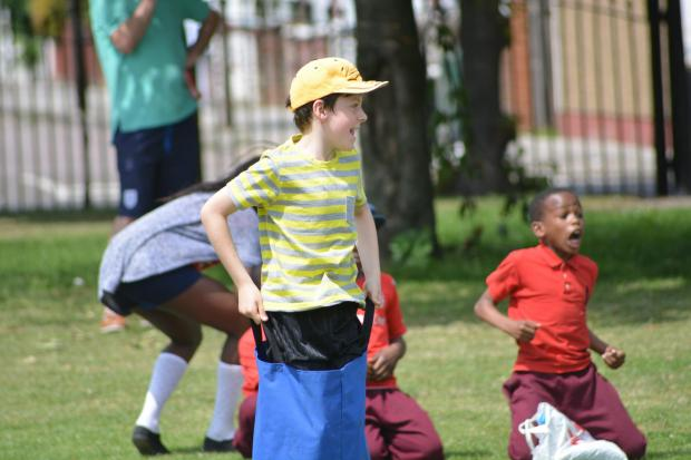 Tottenham Independent: Children participated in a range of activities for Sports Day.