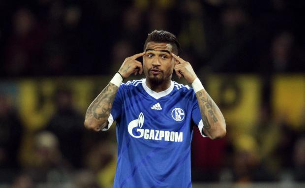 Kevin-Prince Boateng spent two years at White Hart Lane. Picture: Action Images