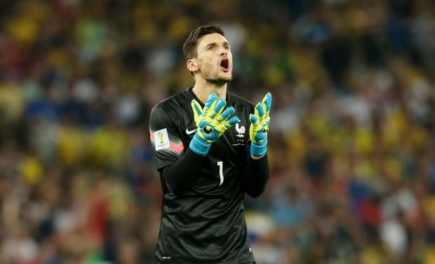 Hugo Lloris shows his frustration as another French chances goes astray. Picture: Action Images