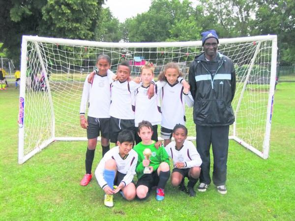 Park View Rangers celebrated their five-a-side win