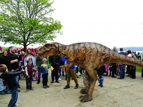 The Mall Wood Green will hold a Dinosaur Encounter week from next Monday