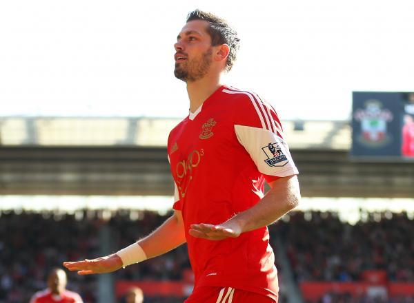 Morgan Schneiderlin celebrates scoring for Southampton against Norwich City last term. Picture: Action Imag