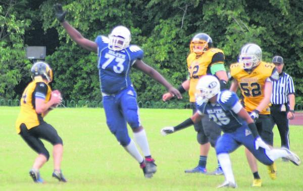 London Blitz are chasing a place in the national finals