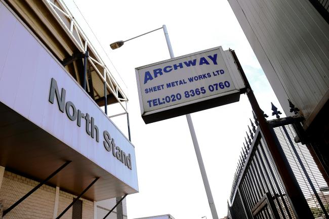 A spokesman for Archway Sheet metals says Spurs fans have called the firm with abuse