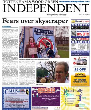 Tottenham Independent: Read the e-edition of the Tottenham Independent and access our archive