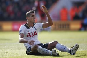 Erik Lamela's last appearance for Spurs came against Liverpool in October. Picture: Action Images