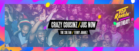 Crazy Cousinz & Jus Now: Dalston Bank Holiday Carnival