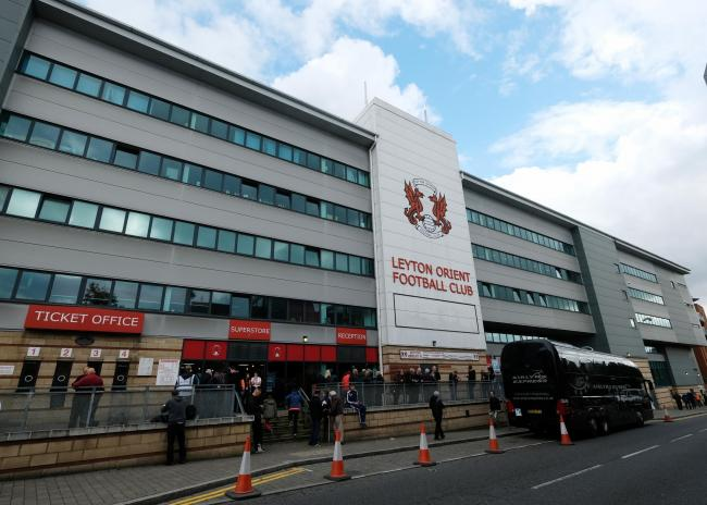A number of players at Leyton Orient tested positive for coronavirus (photo Action Images)