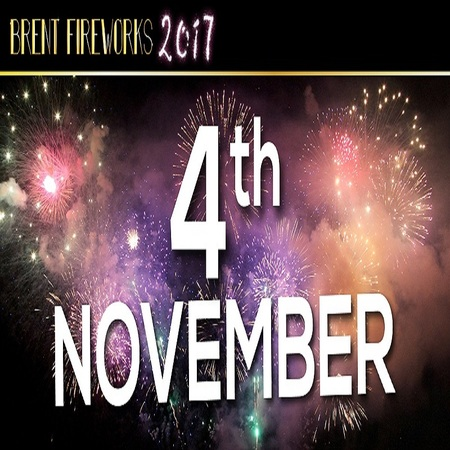 Brent and Harrow Fireworks Display (Fifth Birthday Event) November 4th 2017