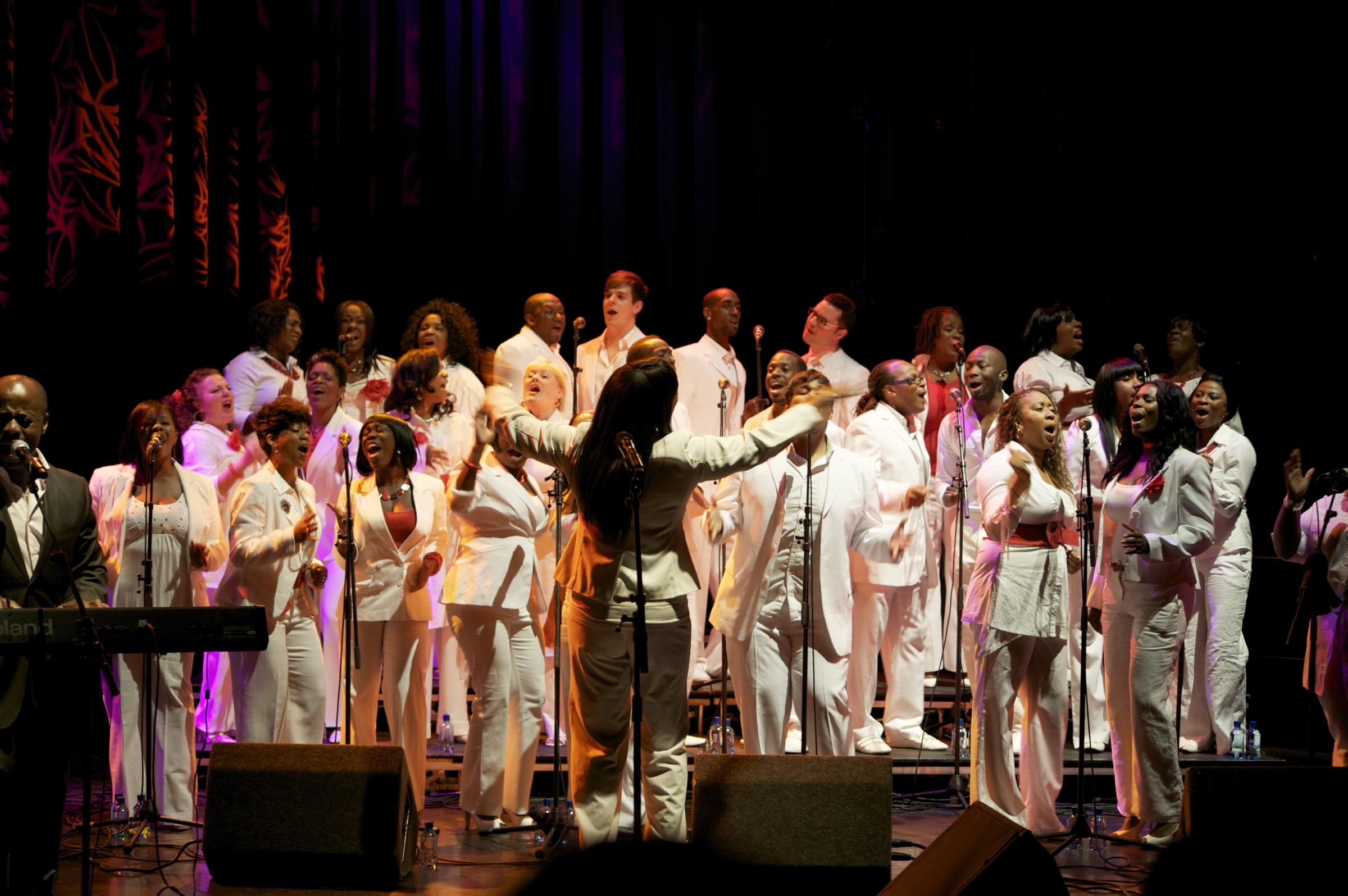 LONDON COMMUNITY GOSPEL CHOIR 'IN FLIGHT'