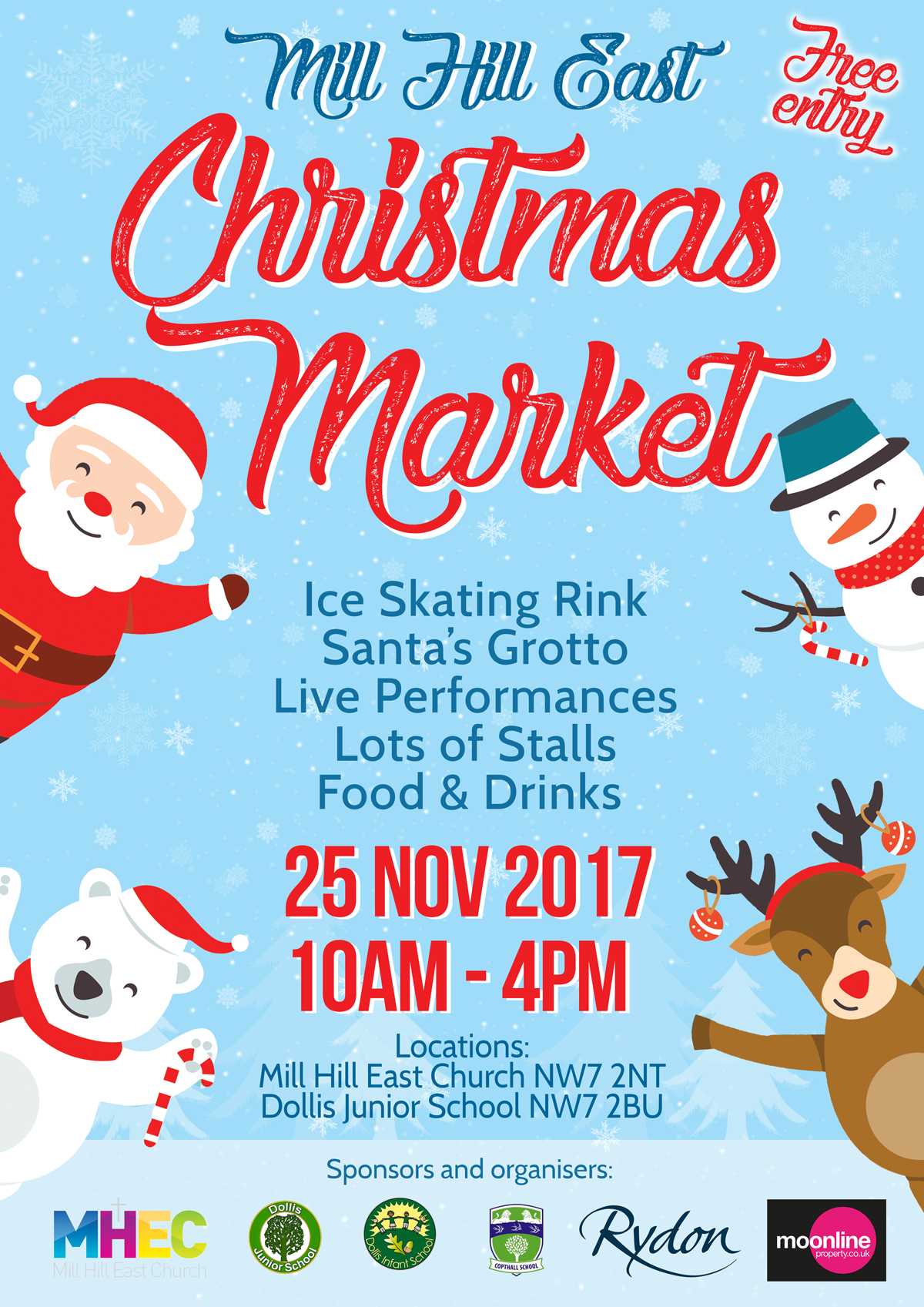 Mill Hill East Christmas Market