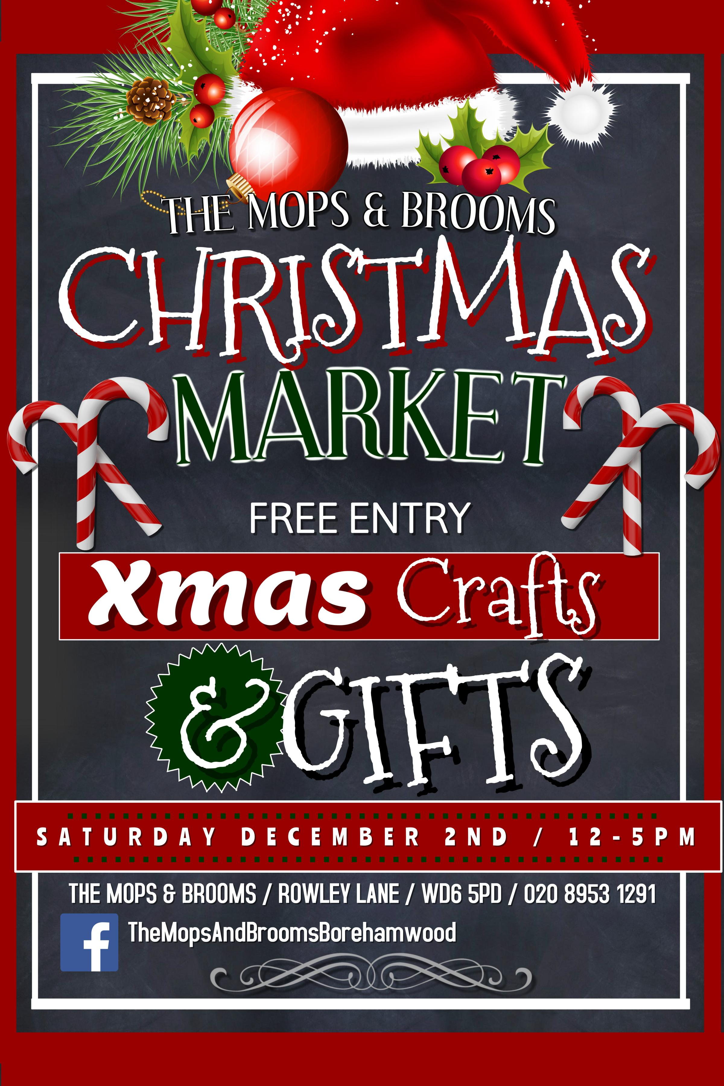 The Mops & Brooms Christmas Market - 2017