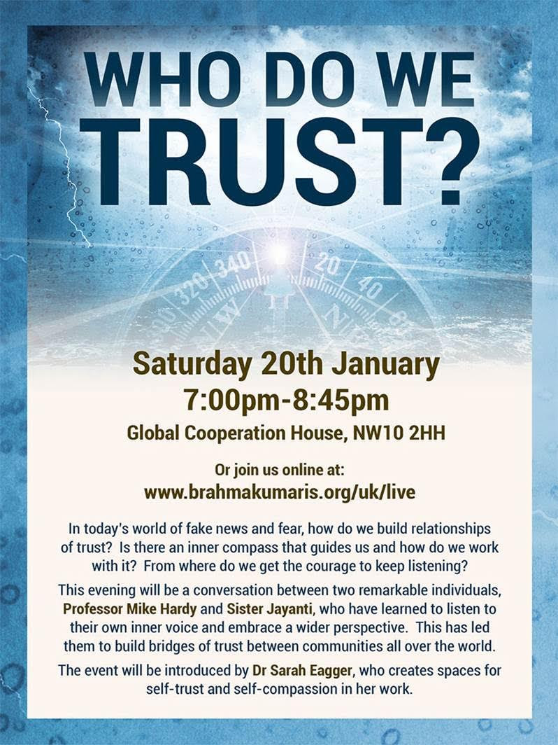 WHO DO WE TRUST? Special Event