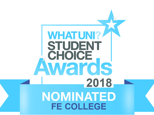 The College of Haringey Enfield and North East London (CONEL) has been shortlisted for a top higher education award.