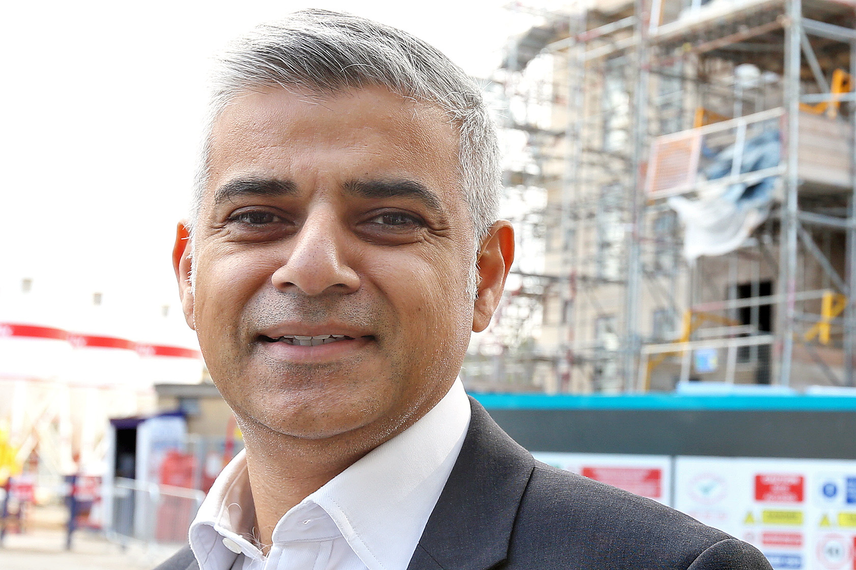 The current Mayor of London, Sadiq Khan