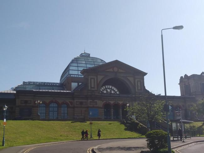 Alexandra Palace, where votes were counted in the Haringey Council by-election